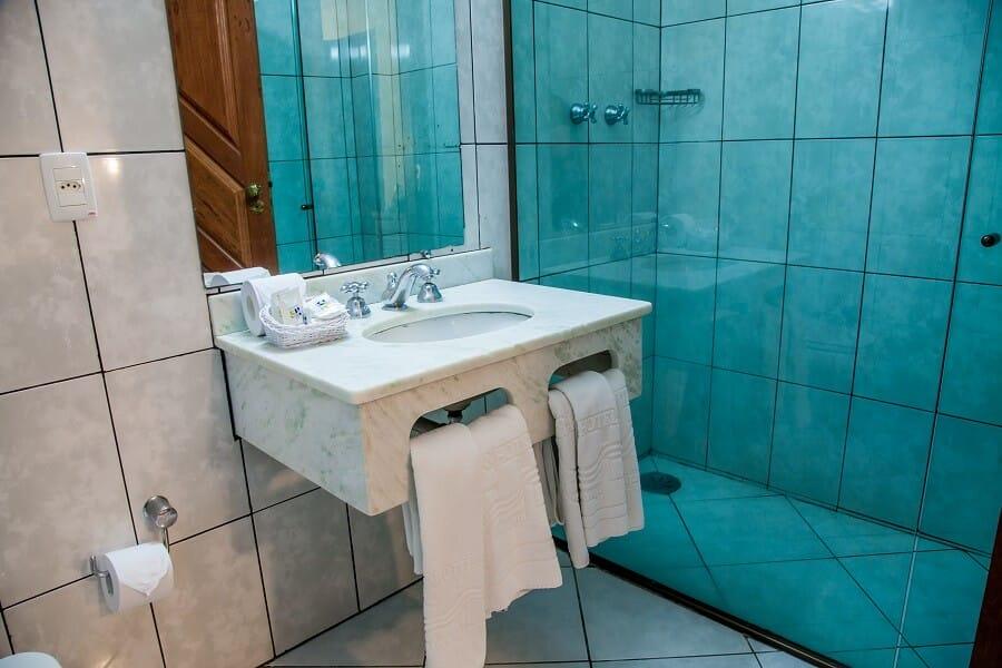 Banheiro Conforto Sem Varanda Strand Hotel