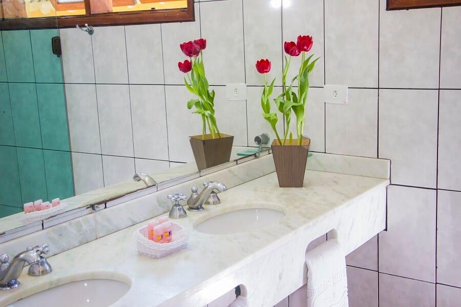 Banheiro Suíte Superior Frente Mar Strand Hotel