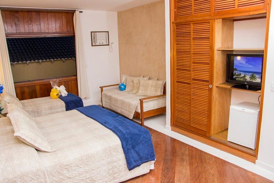 Conforto Família Strand Hotel Guarujá