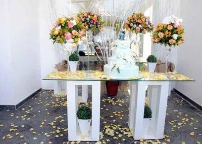 Mesa de Bolo Casamento no Strand