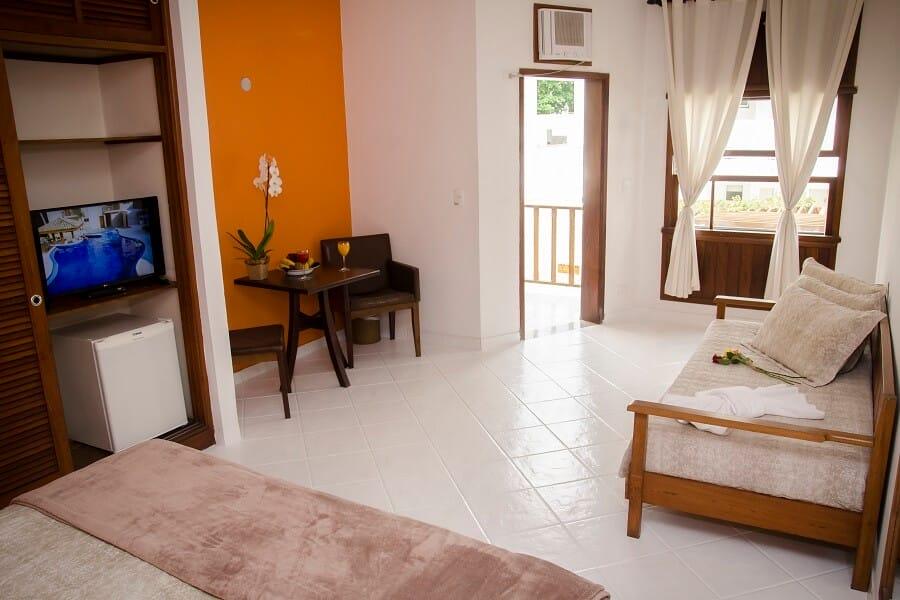 Suite Conforto com Varanda Strand Hotel Guarujá