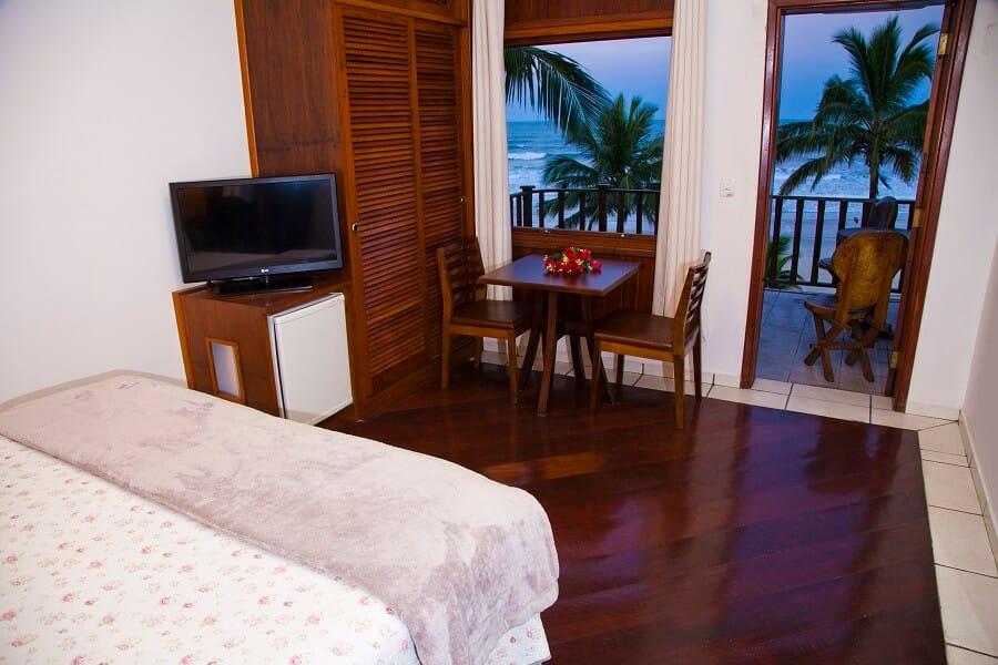 Suíte Superior Frente Mar Strand Hotel Guarujá