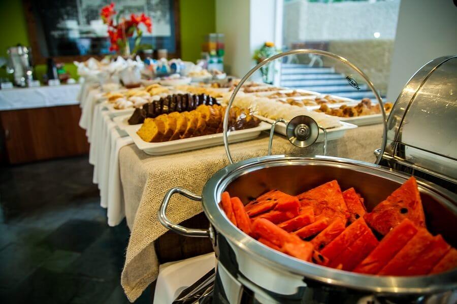 Café da Manhã Strand Hotel Tombo Guarujá