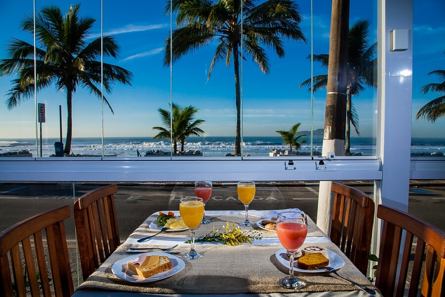 Strand Hotel Guarujá Frente Mar Praia do Tombo